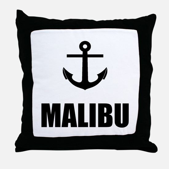 Malibu Anchor Throw Pillow