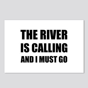 River Calling Must Go Postcards (Package of 8)