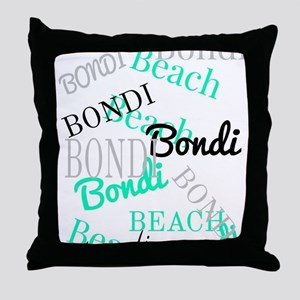 Bondi Beach! NSW Australia Throw Pillow