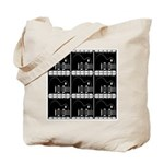 Hollywood Squares Tote Bag