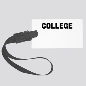 College Large Luggage Tag