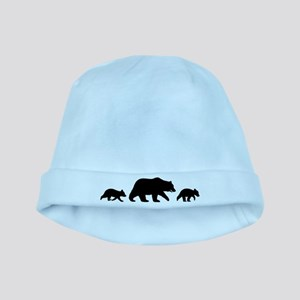 Grizzly Bears Baby Hat