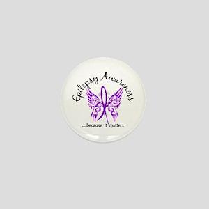 Epilepsy Butterfly 6.1 Mini Button