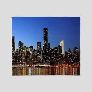 New York City Skyline Throw Blanket