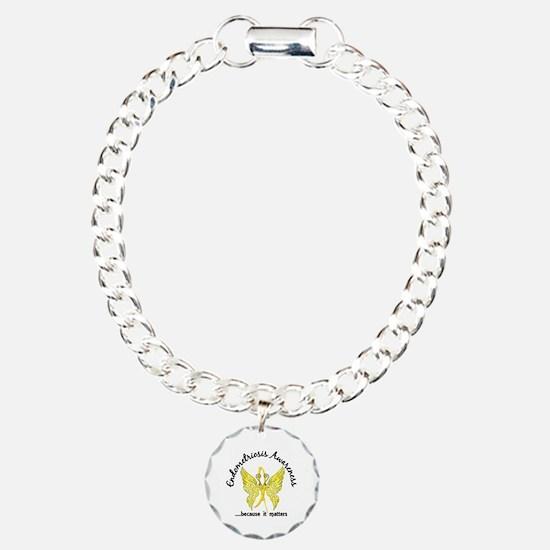 Endometriosis Butterfly Bracelet