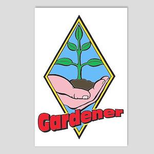 Gardener Postcards (Package of 8)