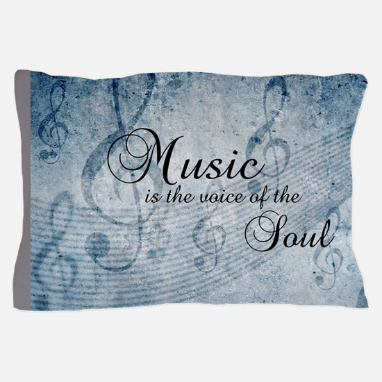 Music voice of the soul Pillow Case