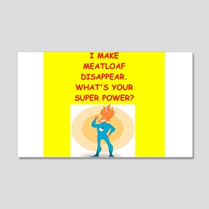 meatloaf Wall Decal