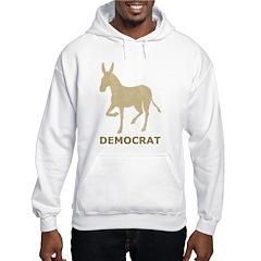 Vintage Democrat Hoodie