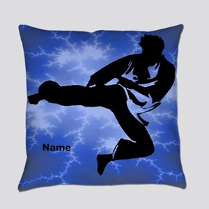 Karate Childs Everyday Pillow