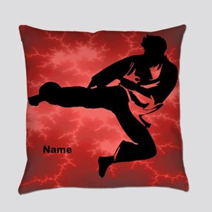 Karate Boy Everyday Pillow