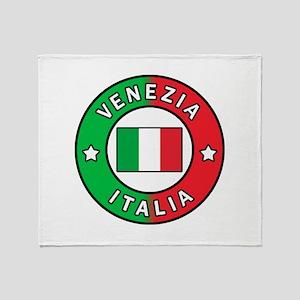 Venezia Italia Throw Blanket