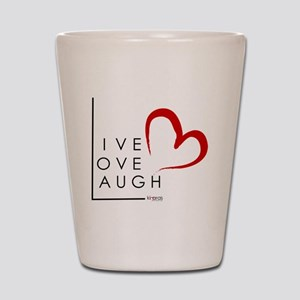 Live.Love.Laugh by KP Shot Glass