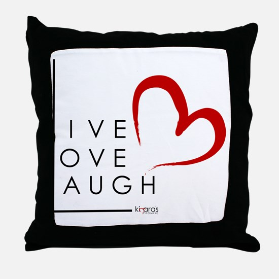 Live.Love.Laugh by KP Throw Pillow