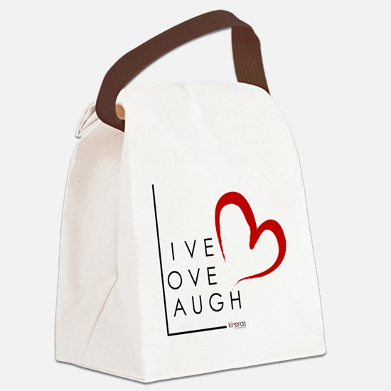 Live.Love.Laugh by KP Canvas Lunch Bag