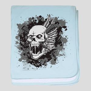 Skull VI baby blanket