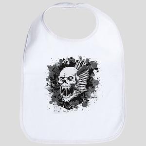 Skull VI Bib