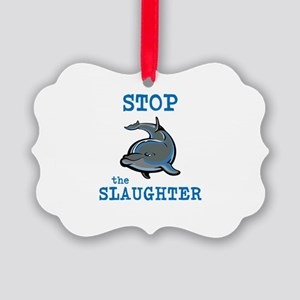 Dolphin Slaughter Ornament