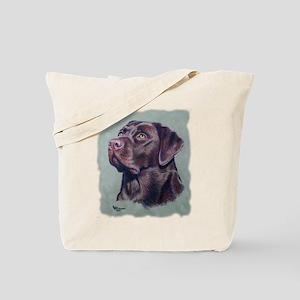 Hot Choc Lab Tote Bag