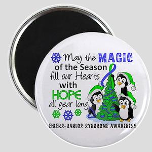 Holiday Penguins EDS Magnet
