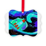 Rocket Ship Outer Space Ornament
