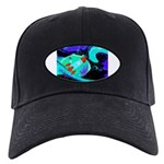 Rocket Ship Outer Space Baseball Hat