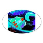 Rocket Ship Outer Space Sticker