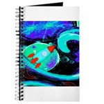 Rocket Ship Outer Space Journal