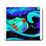 Rocket Ship Outer Space Mousepad