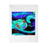 Rocket Ship Outer Space Twin Duvet
