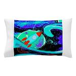 Rocket Ship Outer Space Pillow Case