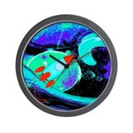 Rocket Ship Outer Space Wall Clock