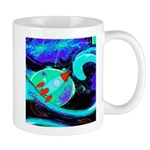 Rocket Ship Outer Space Mugs