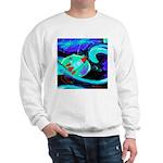 Rocket Ship Outer Space Sweatshirt
