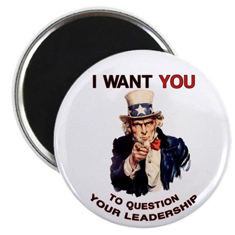 Question Your Leadership Magnets (100 pk)