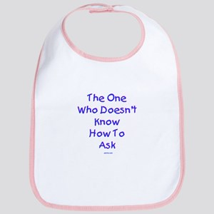 Can't Ask Passover Bib