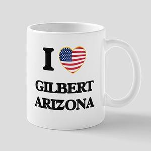 I love Gilbert Arizona USA Design Mugs