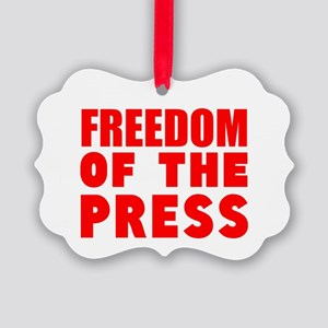 Freedom of the Press Ornament
