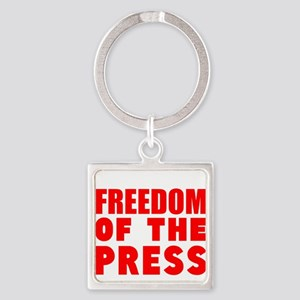 Freedom of the Press Keychains