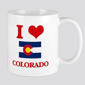 I Love Colorado Mugs