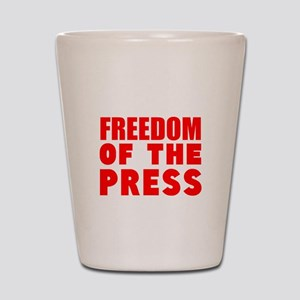 Freedom of the Press Shot Glass