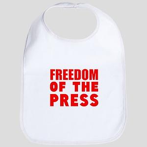 Freedom of the Press Bib