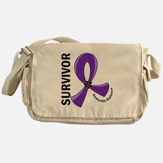 Domestic Violence Survivor 12 Messenger Bag