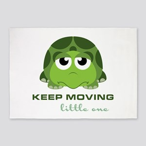 Keep Moving 5'x7'Area Rug