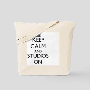 Keep Calm and Studios ON Tote Bag
