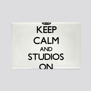 Keep Calm and Studios ON Magnets