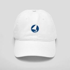 Sailing Yachting Circle Icon Baseball Cap
