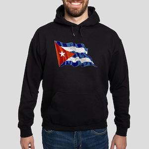 Cuba Flag (Distressed) Hoodie
