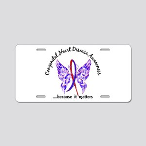 Congenital Heart Disease Bu Aluminum License Plate