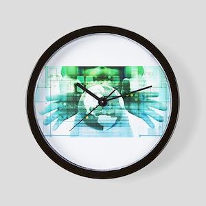 Science Futuristic Wall Clock